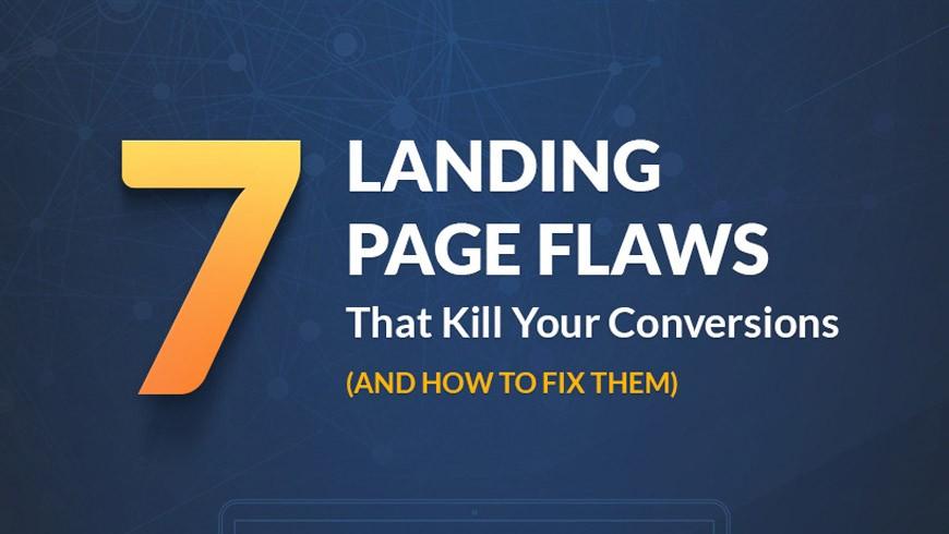 7 Landingpage Fehler die Ihre Conversion ruinieren