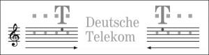 Sound-Logo Deutsche Telekom (Quelle: Kilian, 2009, S. 40)