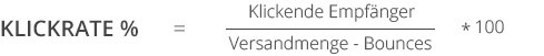 Klickrate - Kennzahlen im E-Mail-Marketing