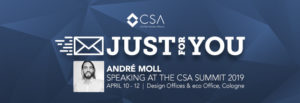 CSA Summit 2019, Andre Moll
