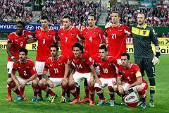 Mannschaftsfoto für Austria
