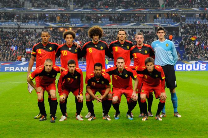 Mannschaftsfoto für Belgium