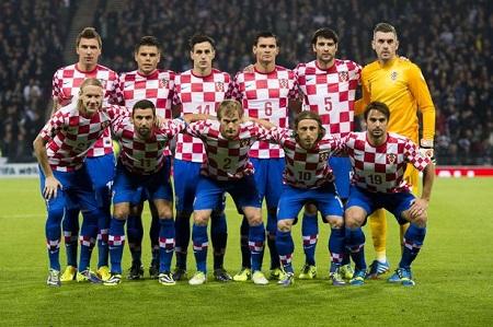Mannschaftsfoto für Croatia