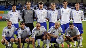 Mannschaftsfoto für Finland