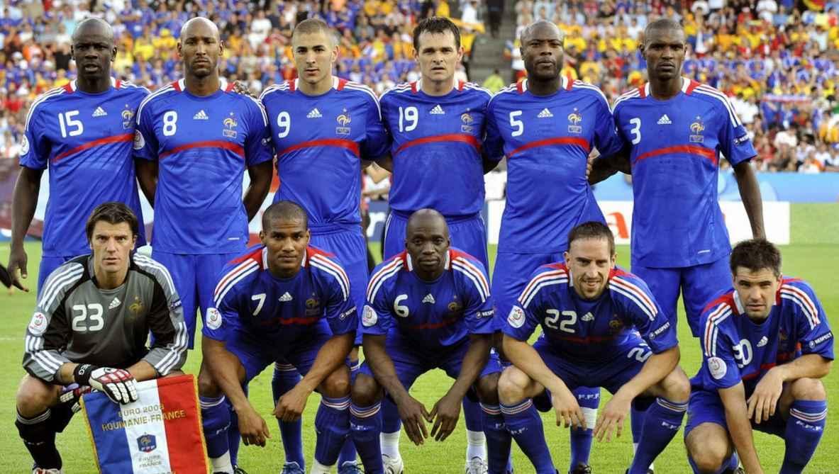 Mannschaftsfoto für France