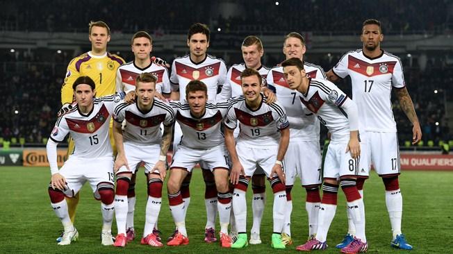 Mannschaftsfoto für Germany