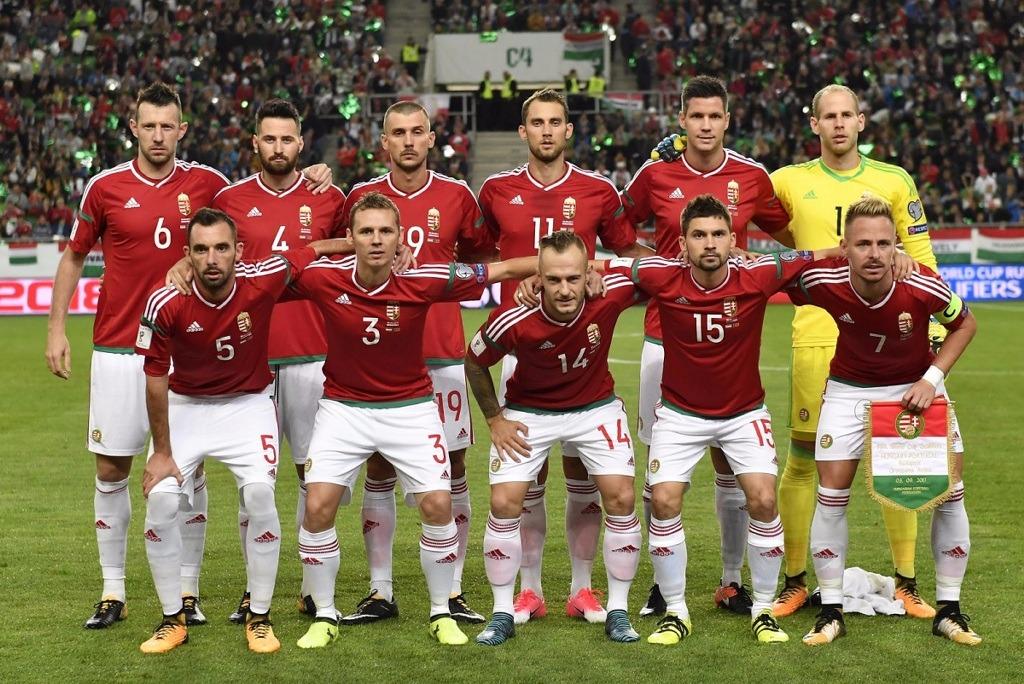 Mannschaftsfoto für Hungary
