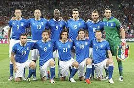 Mannschaftsfoto für Italy