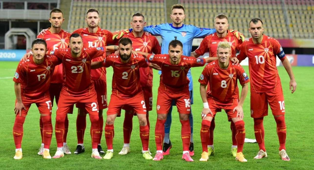 Mannschaftsfoto für North Macedonia