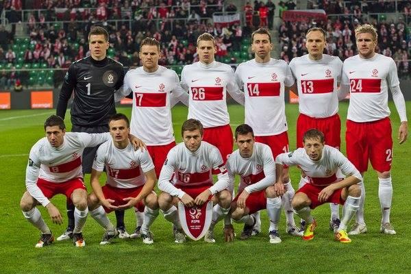 Mannschaftsfoto für Poland