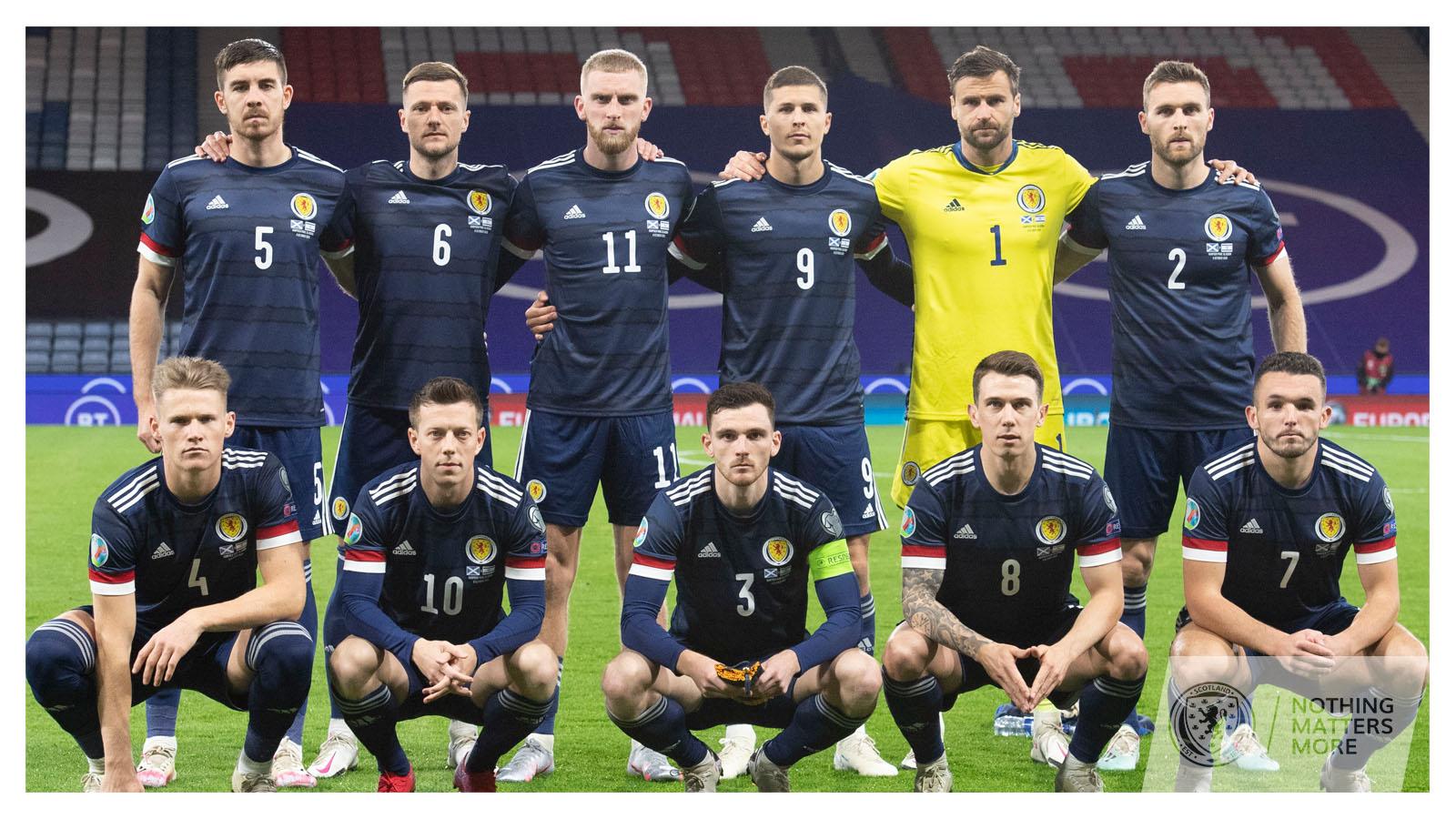 Mannschaftsfoto für Scotland
