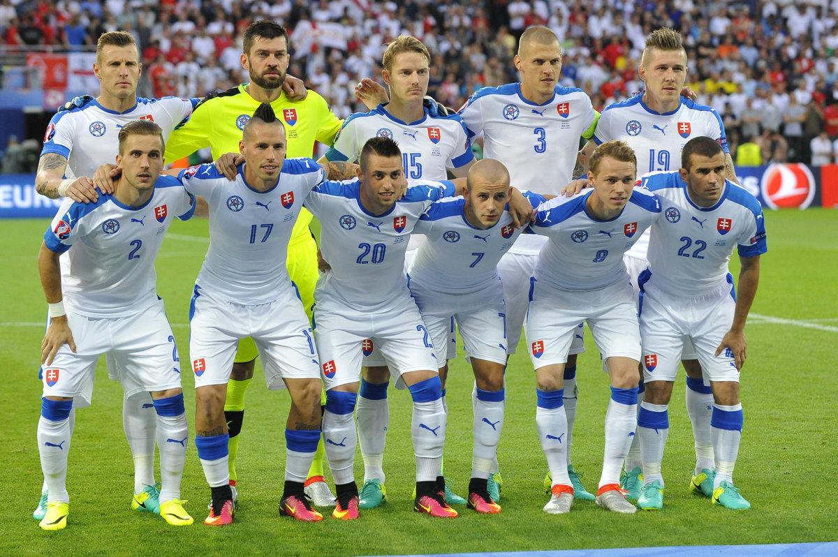 Mannschaftsfoto für Slovakia