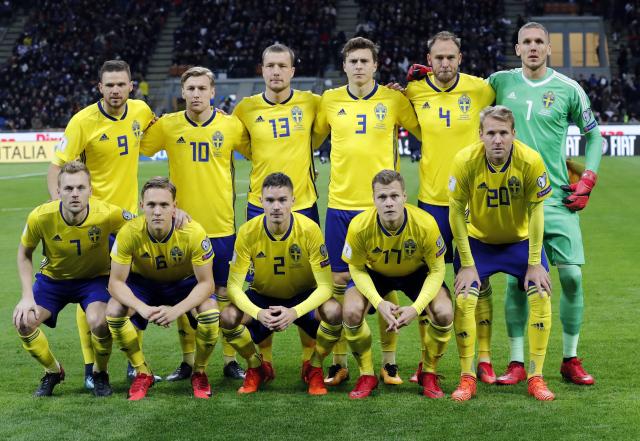 Mannschaftsfoto für Sweden