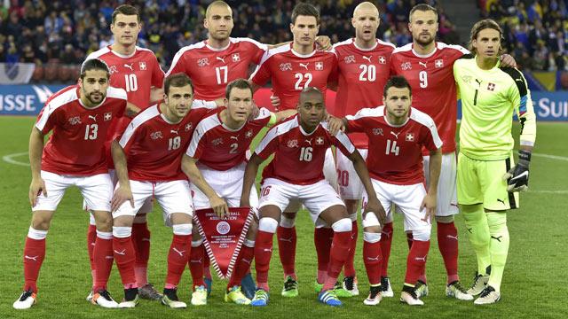 Mannschaftsfoto für Switzerland