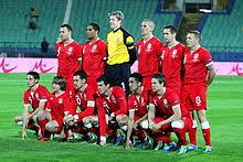 Mannschaftsfoto für Wales